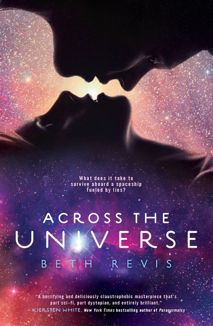 "Title: Across The Universe (Across The Universe #1) Author: Beth Revis Format: Paperback Rating: 3/5 cups of coffee My Review: MINOR SPOILER ALERT!!!Beware, this is not a love story. As you can see in the book cover. Now, I'd justified the saying ""Don't judge a book by it's cover."" This book is science fiction with a twist of suspense. This book is mysterious. And not to mention, this book is full of frexing LIES! By the way, frex/frexing was a word used in the book as f*ck/f*cking. So the author used frex/frexing instead of those foul words. You will know why when you read it yourself.The story was slow at first but then it became mysterious at the middle part. I hate science, so I don't get used to some science term in this book. I can't fully understand some things. At first, I want to mark this book as unfinished-books because of those science terminologies but then I decided why shouldn't I give it a try? Then it goes well. I get hooked at the near end part.This book is full of lies. I shouldn't be surprised because at the cover of the book it says What does it take to survive aboard a spaceship fueled by lies. There you go, lies. And oh, the love story thing. Well it's not really a love story like with too much kissing and cuddling and stuffs. Nothing like that tho. Yes, it's disappointing. I love love stories but maybe it's a good thing because sometimes too much kissing annoys me.Well, this books annoys me in some part because of their Season thingy where some of the people of the spaceship Godspeed mates in public. Eww!This is the first sci-fi novel that I've read, maybe that's why I don't get used to it at first. So now I know how sci-fi novels works for me. I learned a lot from this book. I will definitely read the second book. :)"