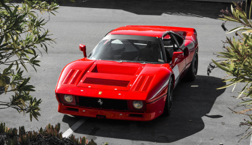 carmonday:   This Ferrari race car is a classic among classics. Ferrari 288/308 GTO/GTU