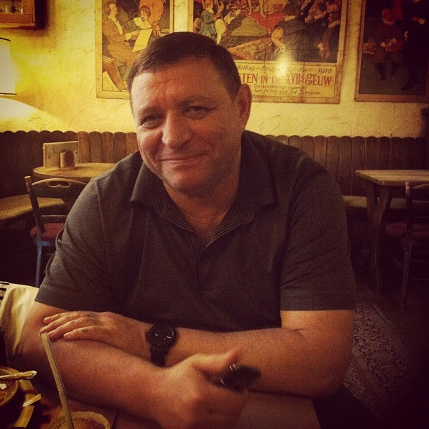 Daddy))) (Taken with Instagram)