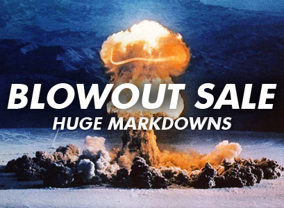 BERLIN BLOWOUT SALE! I'm having a blowout sale to celebrate moving to Berlin. Loads of stuff in my shop is half price / heavily reduced. Move fast - stock is limited! Prices are thus:  New Season Bundle - £15 £10 CD Starter Pack - £25 £18  T-shirts - £10 £5  Tour screen print - £10 £5  New Season deluxe CD - £9 £6 Split EP w/ Jose Vanders - £4 £2  Have You Got Heart? deluxe CD - £8 £5  Old albums - £7 £3.50 New Season mug - £5 £3 iPhone / iPod Tour Jacket - £10 £3  For more info on my move to Berlin, check out my newsletter.  K thx!