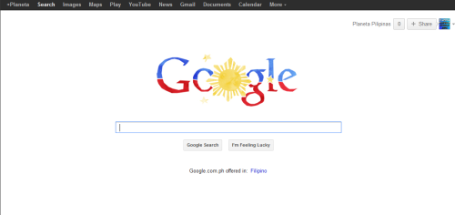 Google.com.ph today