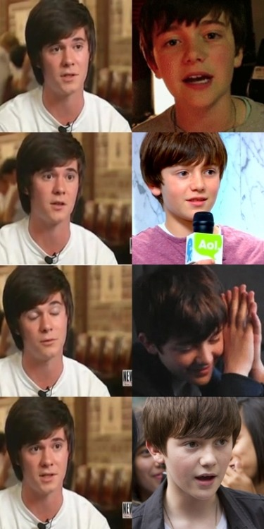 Greyson and Tanner. they're handsome :>