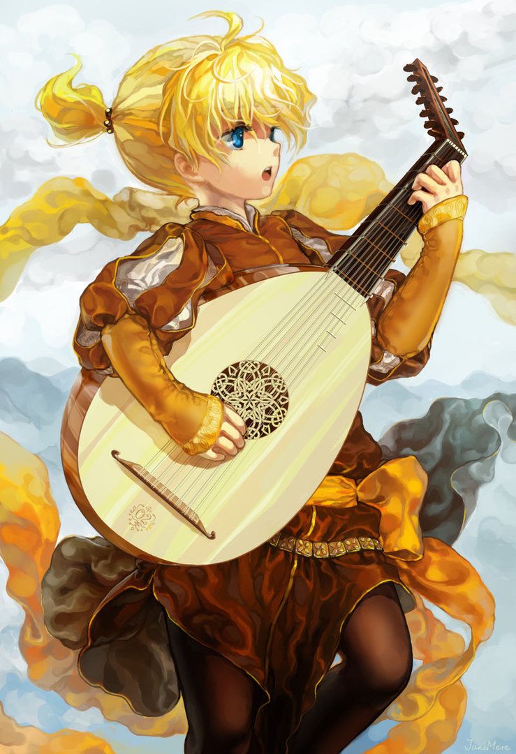 Minstrel Prince by JaneMere (Let's appreciate beautiful digital art from time to time)