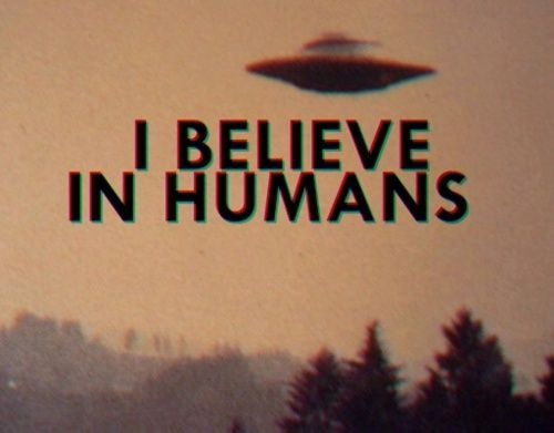 I believe in humans