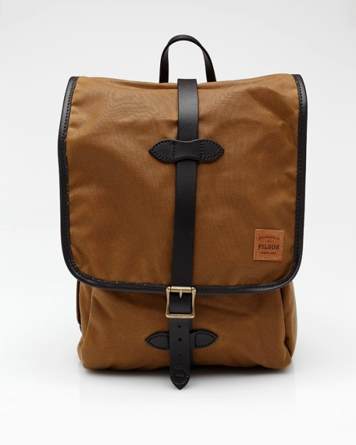 kariusbaktus:  Filson Tin Cloth Backpack