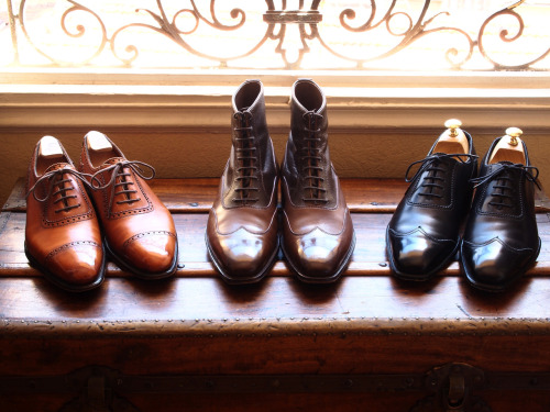 mydayshoes:  My Alfred Sargent Handgrade collection  Me los regalan? Los amé.