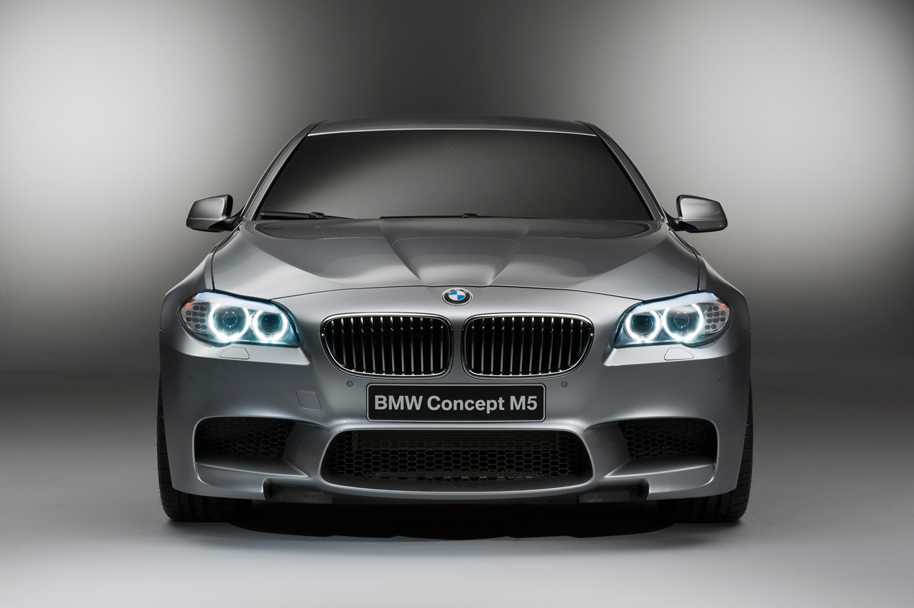 bimmers:  BMW Concept M5 (F10) front view For more BMW photos head to Bimmers.tumblr.com