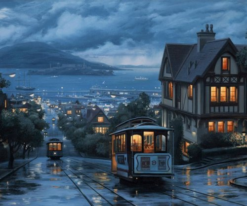 1wantchange:  Powell-Hyde Cable Car Line - San Francisco