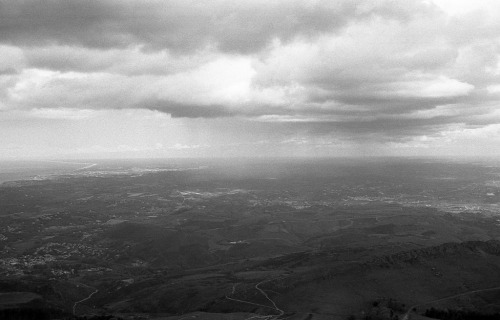Clouds over Pays Basque Olympus OM1n / Zuiko 35mm f2.8 / Fomapan 400