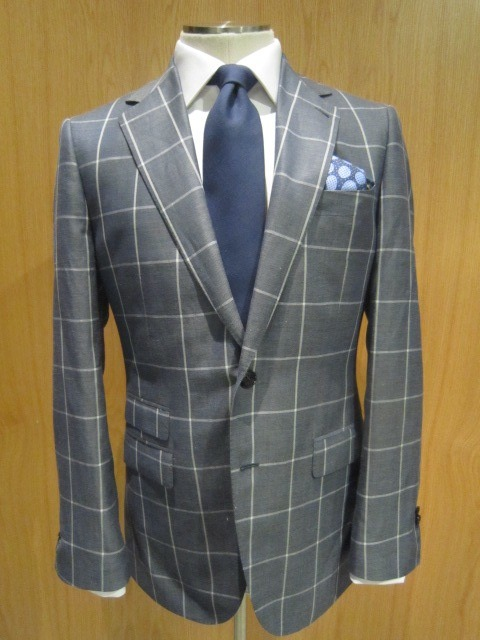 The Big Summer Checked Jacket Bespoke for B. D. B – This one is just as good with chinos as it is with dress pants/linens.  Garrison 2 Button Notch Lapel jacket in Linen/Wool/Silk from Ariston of Napoli