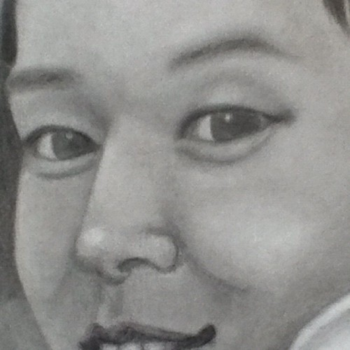 A better preview of my drawing! Almost done! #kpop fans, guess who. (Taken with Instagram)