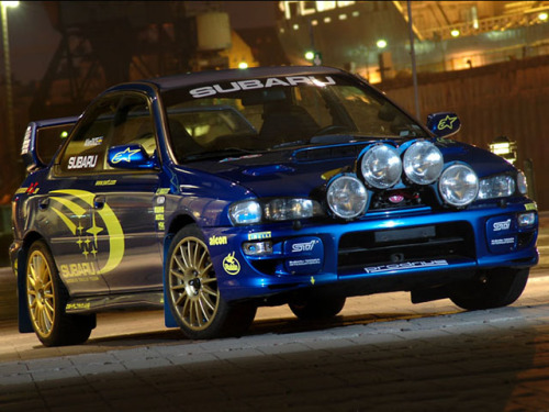 The Fourth Generation of the Subaru Impreza it is one of the most beautiful. It can reach 265 HP, and although not very economic, it can do 25 MPG on highway. The Subaru Impreza WRX has always been one of the best Rally Cars ever built, culminating in 3 world titles from 1995 to 1997. This car it is quite a monster, but you can buy it for a relatively low amount of money, just check Used Subaru Impreza for Sale: the prices range from just over £1000 to £50000 for a nearly new car. Famously, this car was driven to success by Colin McRae.