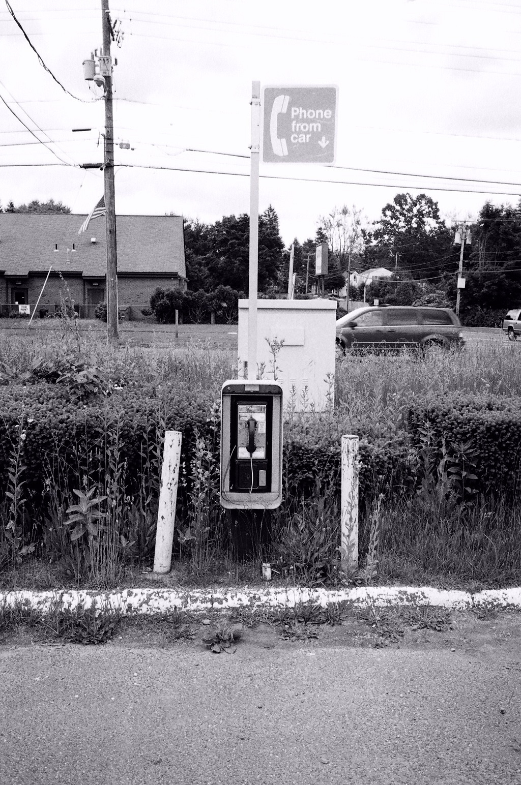 Drive up Pay Phone.