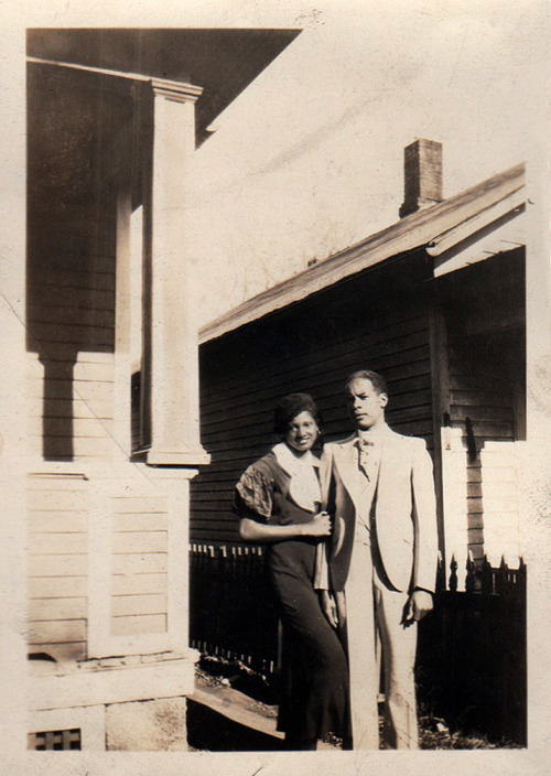 Louise & Walter 1930's [Dean Family Album] ©WaheedPhotoArchive, 2012