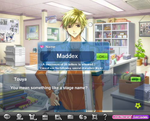 We reach the point where we get to name our future star. I name him Maddex.