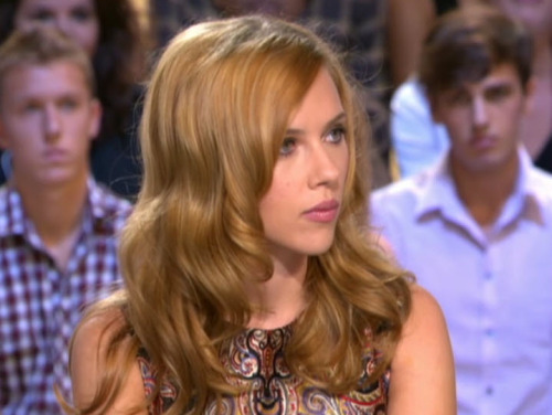 lostinscarlett:  Scarlett at Le Grand Journal.