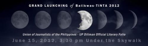 unibersidadngpilipinas:  The Union of Journalists of the Philippines UP Diliman (UJP-UP) invites everyone to the launching of TINTA, its official literary folio. Free copies to be given!  <3