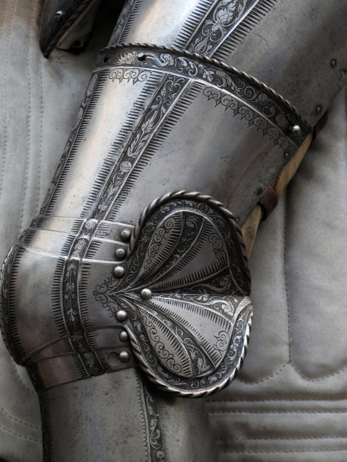 Knight - Leg Armor Close Detail, Metropolitan Museum of Art