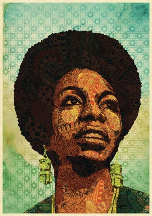 gray37:  (via Urban Myth Illustrations / Nina Simone)