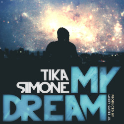 "My sophomore single ""My Dream"" is about someone who I liked very much but was very afraid to say something….Thus, I dreamt…and still dream. He has NO idea. And I'm probably going to keep it that way forever. Even though I am a seemingly huge extrovert, I am in reality very shy. I hope you identify with this song as it was difficult to record much less release. Extremely vulnerable track made into a fun track to lessen the heat of the honesty. Enjoy. — Produced by the genius who is Larry Gates Jr. [Son of the infamous Roger Troutman]. It drops today at NOON. Stay tuned. <3 Artwork by: Wolf J. McFarlane, Photo and editing by: Ishmil Waterman"