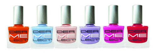 (via NEW! Dermelect 'ME' Anti-Aging Colored Nail Lacquers)