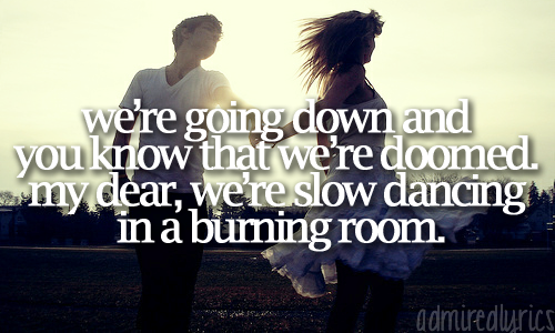 Slow Dancing In A Burning Room - John Mayer