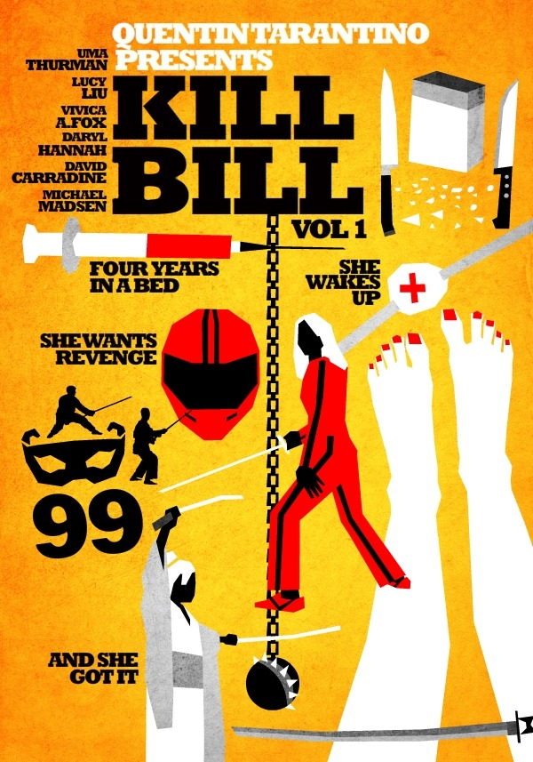 """Kill Bill"" -Fan Art Poster"