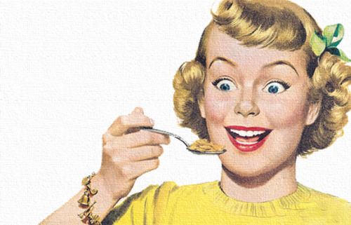 theniftyfifties:  1950s cereal advertising illustration.