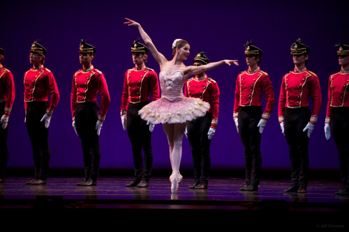 "Dancers: Gema Diaz and Cincinnati Ballet Dancers Performance: ""The Steadfast Tin Soldier"" featured in ""Ballet Toybox"" 2012Choreography: Devon CarneyPhotographer: Jeff Corcoran"