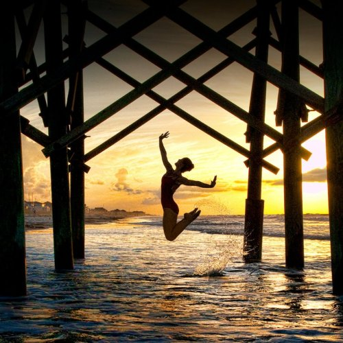 UNDER THE BOARDWALK by Richard Calmes. Dancer Stephanie Bussell