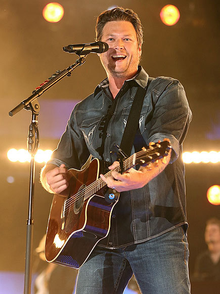 """There is a crapload of country fans out there."" - Blake Shelton, taking the stage at the CMA Music Festival in Nashville"