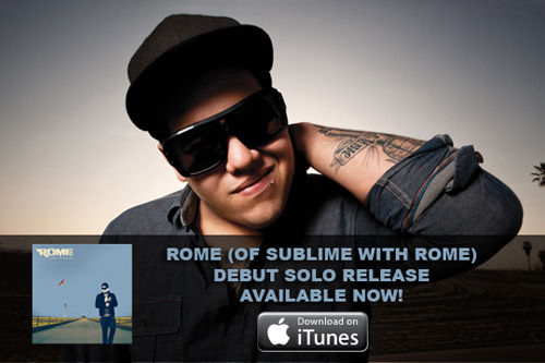 Click HERE to download the Dedication EP from Rome (of Sublime With Rome) available now on iTunes! Post an update on Facebook telling your friends to check it out and include the iTunes link!  Use this link when promoting the Dedication EP to your Twitter followers: http://bit.ly/dedicationep Reblog this.