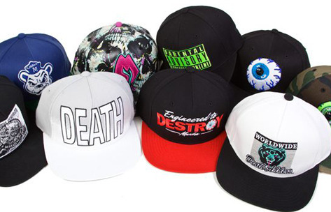 MISHKA - Summer '12 Snapbacks Check all of'em here.
