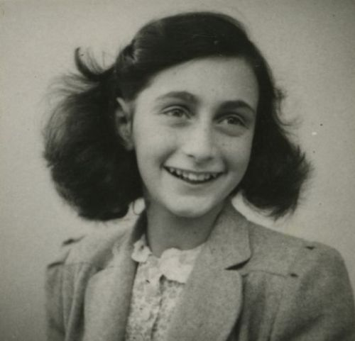 the-holocaust:  Happy birthday Anne Frank (12 June 1929 - March 1945)  This is also the day that she received her diary for her 13th birthday in 1942.