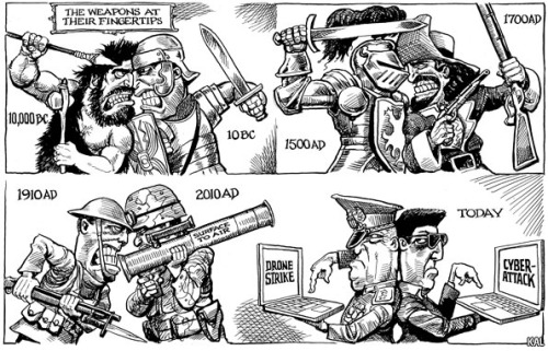 KAL's cartoon: this week, some history.