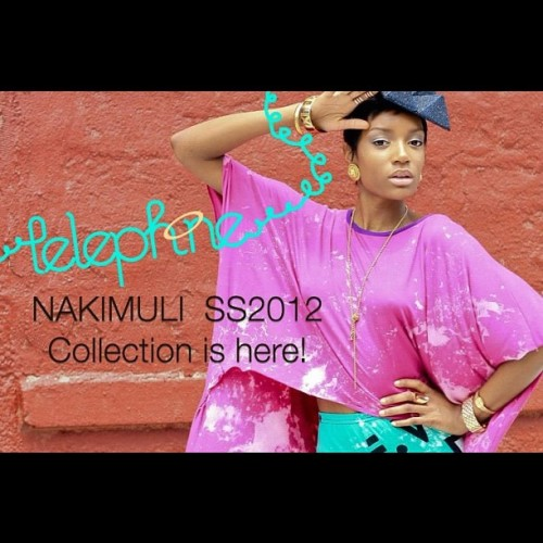 New collection is finally here! Will be updating the site with the new items all day while I prepare for a big meeting this afternoon. www.nakimuli.com (Taken with Instagram)