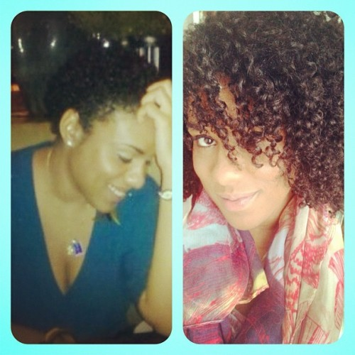 melshary:  Pic on the left is me 21 months ago, the day I Big Chopped. Pic on the right is me a few days ago. I wanted to post this for all the beautiful ladies that have recently Big Chopped & feel that their hair will never grow. It will ladies!!! You must be patient. I cried the day I Big Chopped but today I'm loving how far my hair has come. Stay positive!!! #teamcurly #teamnatural #teamnaturalhair #naturalhair #naturalhairjourney #bigchop #growth (Taken with Instagram)