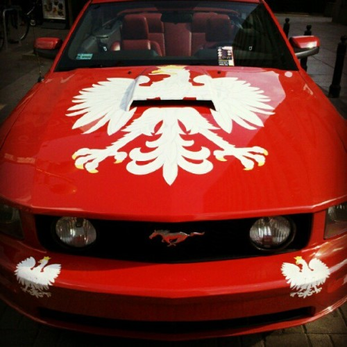 angelboyemoka:  Polska!!! #polska #poland #euro2012 #warsaw (Taken with Instagram)
