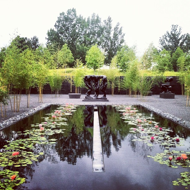 Rodin Garden (Taken with Instagram at North Carolina Museum of Art)