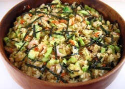 Sushi Roll Salad click image for recipe