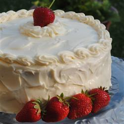 Best Ever Strawberry Cake, photo by Pam-3BoysMama