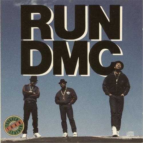 Album Cover (1988) Run DMC // Tougher Than Leather RunDMC.com