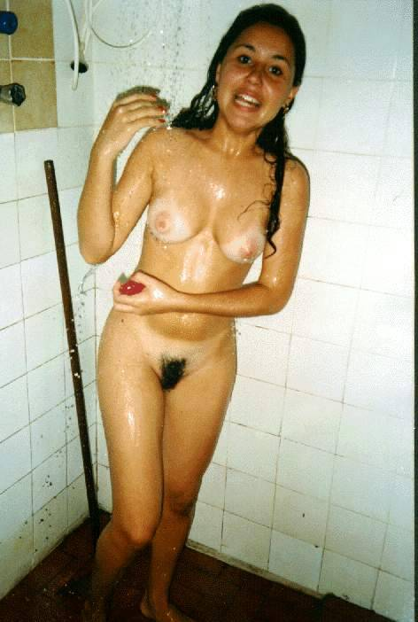 shower full frontal candid nude topless voyeur exposed