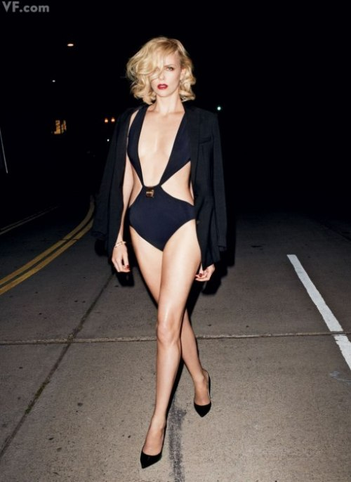 The 2012 Hollywood Portfolio | Charlize Theron Photograph by Terry Richardson