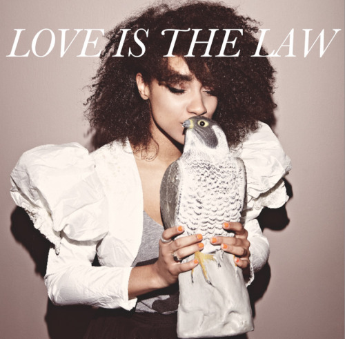 Love is the Law Issue #2 is out next month featuring Lianne La Havas working her melodic magic as guest curator.  With previous guest editors including Daisy Lowe and Tali Lennox - we always expect big things from the aesthetically driven, art and literature magazine. Pick up a copy at the Scoop fashion fair this July