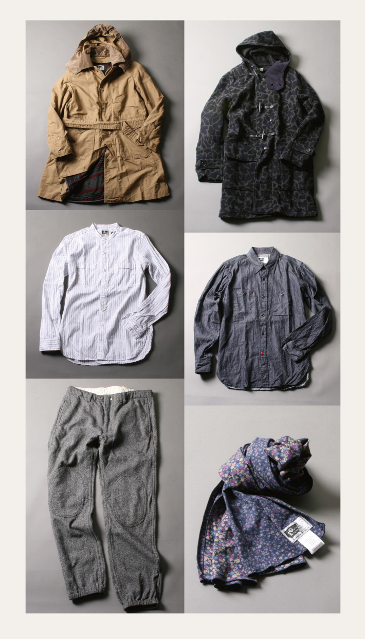 Engineered Garments Fall Winter 2012 preview.  Source.