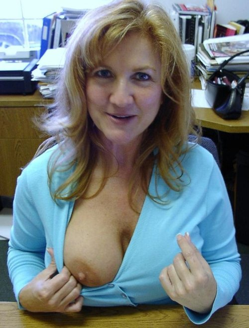 Hot amateur milf flashing tits sorry, that