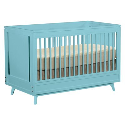 Young America Crib in Surf Blue