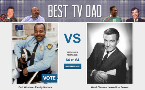 CollegeHumor Toplist: Best TV Dad Father's Day is coming up. You should celebrate it by calling your dad and answering his questions about the computer. We'll celebrate by figuring out exactly which TV dad was the best. Vote now!