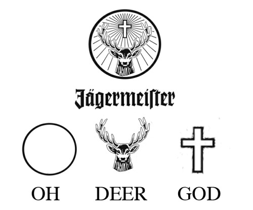 What the Jager logo really means